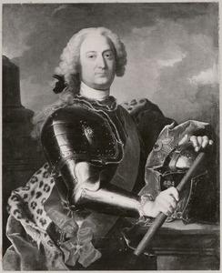 Portret van Georg van Hessen -Kassel (1691-1755)
