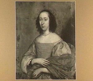 Portret van een vrouw, 1656