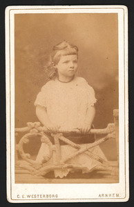 Portret van Alexandrine Woltera Elias (1876-1963)
