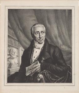 Portret van Samuel Iperuszoon Wiselius (1769-1845)
