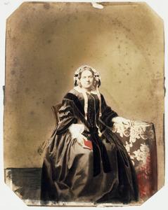 Portret van Anna Albartina Hennevelt (1810-1874)