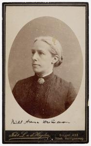 Portret van M.A. Westerman