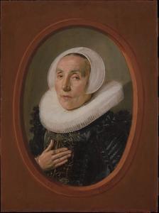 Portret van Anna van der Aar (1576/77-1656)