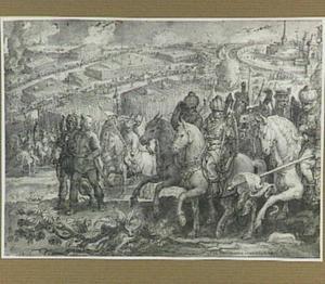De aftocht van de Turken na het beleg van Wenen in 1529