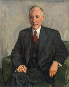 Portret van Jan Heijn (1897-1964)