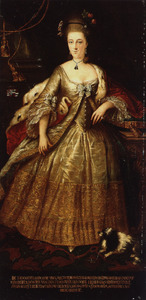 Portret van Dorothea Charlotta van Neukirchen genaamd Nyvenheim (1749-1785)