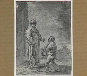 Lazarillo treedt in dienst bij de dorpskapelaan (Lazarillo de Tormes dl. 1, cap. 6, p. 17)