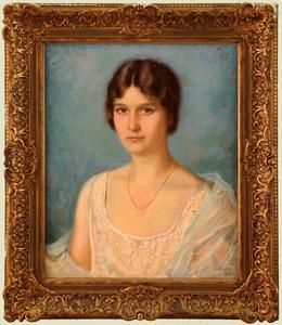 Portret van Wilhelmina Adriana Geertruida van de Poll (1901-1958)