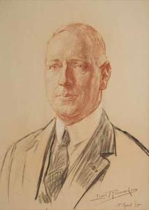 Portret van Gijsbert Weijer Jan Bruins (1883-1948)