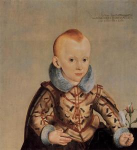 Portret van Erdmann August, Crown Prince of Brandenburg-Bayreuth (1615-1651)