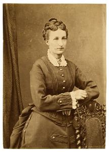 Portret van Emilie Elise Aline Epping (1837-1886)