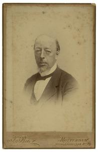 Portret van Willem Johan Hoffman (1821-1892)