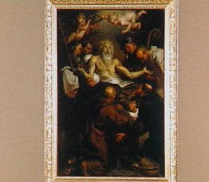 De dood van de heilige Antonius Abt