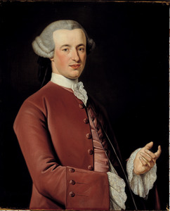 Portret van Simon Stinstra (1735-1782)