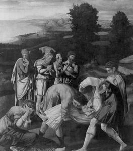 De begrafenis van de H. Dionysius