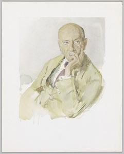 Portret van Marius Bauer (1867-1932)