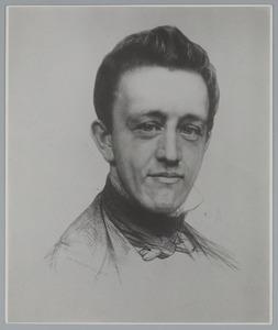 Portret van de uitgever Gualtherus Kolff (1826-1881)