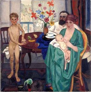 Het gezin van de schilder