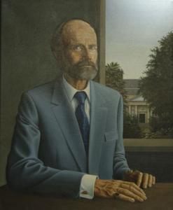 Portret van Maurits Nanning van Loon (1923-2006)