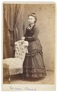 Portret van Diana Susanne Jéhenne Frédérique Neys (1854-1946)