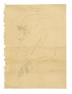 """Portret van Jhr. Adolf Eduard """"Caesar"""" Boddaert (1881-1960)"""