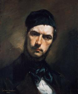 Portret van Hendrik Jan van Wisselingh (1816-1884)