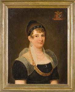 Portret van Maria Anna Joanna Josepha de van der Schueren (1778-1813)