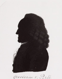 Portret van Rudolf Willem van Pabst (1706-1782)