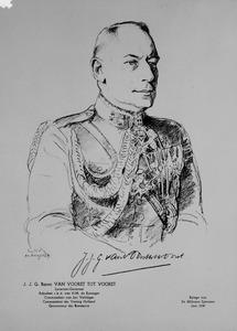 Portret van Jan Joseph Godfried van Voorst tot Voorst (1880-1963)