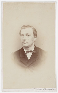 Portret van M.G. van Woerden
