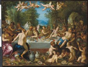 Het huwelijk van Bacchus en Ariadne