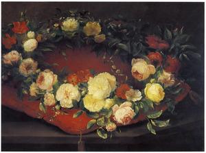 Krans van rozen