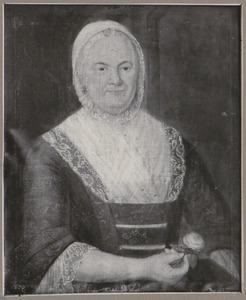 Portret van Elisabeth Hulsly (....-....)