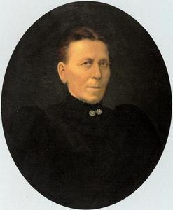 Portret van Petronella Mathilda Catharina Kusters (1853-1919)