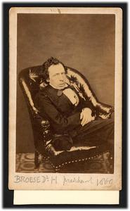 Portret van dhr. Herman Broese van Groenou (1822-1893)