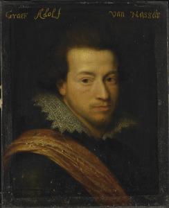 Portret van Adolf van Nassau-Siegen (1586-1608)
