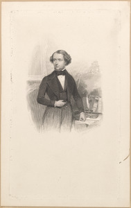 Portret van Herman Jacques Constant van Nouhuys (1821-1853)