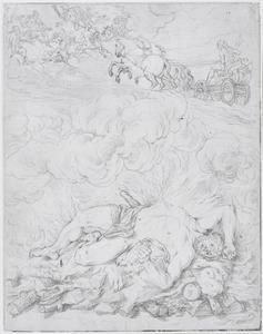 De dood en de vergoddelijking van Hercules