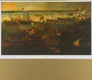 Admiraal Frederico Spinola's mislukte poging om Prins Maurits van Oranje-Nassau's blokkade van de Scheldemonding open te breken, Sluis, 26 mei 1603