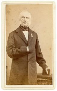 Portret van Johannes Baptista Josephus Nicolaas de van der Schueren (1841-1905)