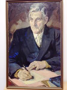 Portret van Carl Wilhelm de Vries (1882-1967)