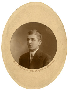 Portret van Cornelis Johannes van Persijn (1897-1928)