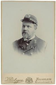 Portret van Willem Theodoor de Booij (1860-1934)