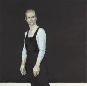 Portret van Henk van Ulsen (1927-2009) als Propritsjin