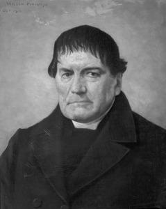 Portret van  Petrus de Gruijter (1795-1867)