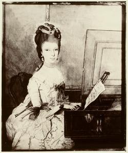Portret van Elisabeth Wilhelmina van Utenhove (1753-1796)
