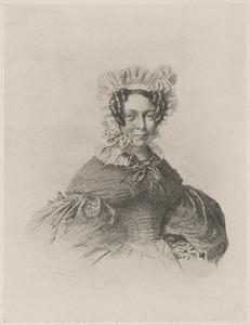 Portret van Stephania de Weert (1798-1843)
