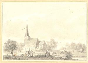Balgoy, gezicht op de kerk