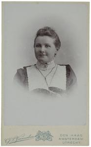 Portret van Hendrika Wissink (1873-1961)