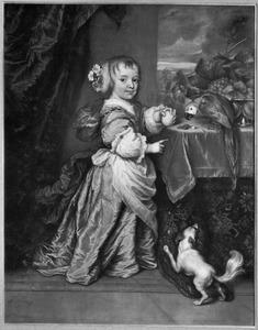 Portret van Anna Elisabeth van Limborgh (1661-1670)